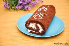 Kokosowo-czekoladowa rolada bezglutenowa – Hashimoto i Ja