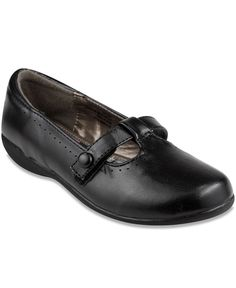 French Toast Glynnis Girls Shoes Black Mary Jane School Dress Shoes Kids Toddler
