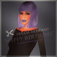 # Happy Birthday To @denisa.medrano..Sorry for the late wish..Wish you happy and healthy..Hope you always success in your career..you is so inspiration to everybody in the world's especially in DOLL WORLD. #drawing #draws #draw #painting #paints #paint #sketching #sketch #artist #arts #art #devianart #animation #cartoon #denisamedrano #mattel #doll #dolls #designer by feezarani