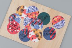 Visual identity and coasters for Singapore based Italian restaurant Bottura by graphic design studio Foreign Policy Brand Identity Design, Branding Design, Italian Pattern, Plat Simple, Beer Mats, Coaster Design, Restaurant Branding, Burger Branding, Restaurant Bar