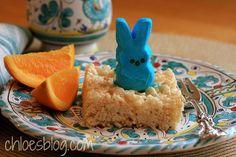 Recipe for Rice Krispie Peeps at Breakfast at Big Mill B and B | bigmill.com | #Peeps | #Peepsrecipe