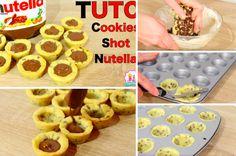 La recette des irrésistibles cookies shot au Nutella