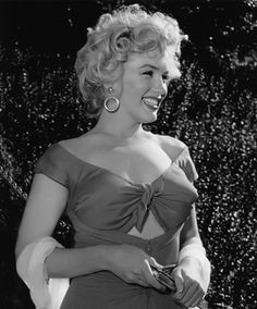 Marilyn photographed by Bob Willoughby, at the Ray Anthony party
