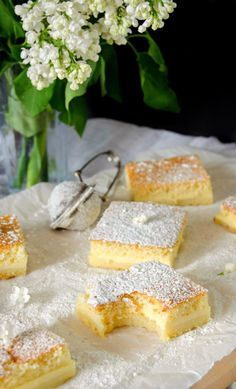 Delicious, milky gluten-free magic cake, the only cake that bakes itself into 3 layers!