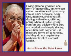 Loving kindness toward all