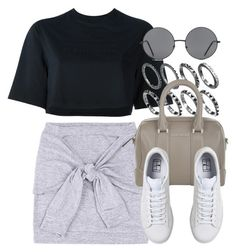 """""""Style #11150"""" by vany-alvarado ❤ liked on Polyvore featuring NIKE, Givenchy and Forever 21"""