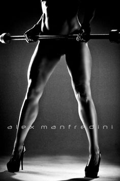 Could do the heels, a short dress and the weights...  EILEEN MARCINKEWICZ - GLAMOUR FITNESS PHOTOGRAPHY