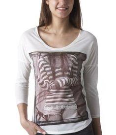 T-shirt femme imprimé photo