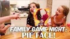 Video: Family Game Night - Pie Face!