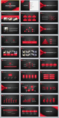 30+ Black Creative Design PowerPoint Template | The highest quality PowerPoint Templates and Keynote Templates download