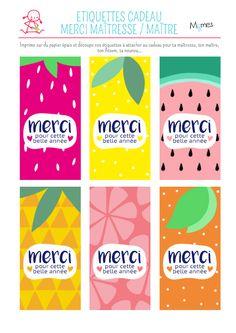 www.momes.net Bricolages Bricolages-a-imprimer Etiquettes-et-decorations-a-imprimer Etiquettes-Merci-maitresse