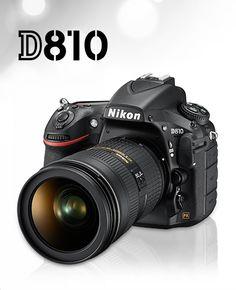 Nikon D810. I want this.