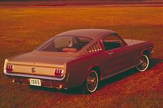 First Generation Mustang (1964 ½ - 1973): 1965 Ford Mustang