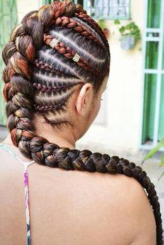 Box Braids Hairstyles, New Natural Hairstyles, Braided Ponytail Hairstyles, Braided Updo, Cornrows Ponytail, Hairstyles Men, Goddess Hairstyles, Wedding Hairstyles, Hairstyles Pictures