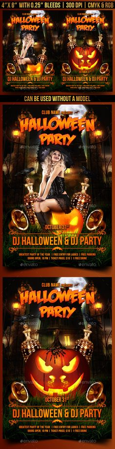 Nightmare Midnight Party Flyer Template Download, Flyer template