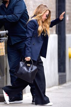 See Mary-Kate Olsen's Take On Business Casual