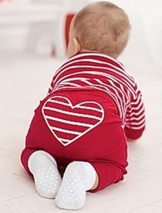 cute little heart shaped baby butt