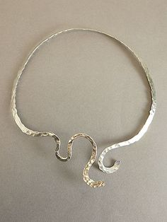 "Necklace - Sterling Silver Collar, ""To Draw Near"" by Kathy ""Elk Woman"" Whitman (Mandan, Hidatsa & Arikara)"