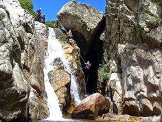 Canyoning at Samothrace, Greece