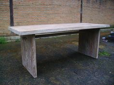 Dining Table Fiore, Recycled Teakholz massiv