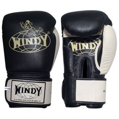 Windy Super Bag Gloves martial arts muay thai kickboxing pink white black pro  #Windy