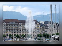 Le retour du jet d'eau après le semis confinement de Genève - YouTube Films, Louvre, Photos, Building, Youtube, Travel, Beautiful, Lake Geneva, Life