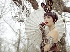 A Mad Tea Party - Etsy Sellers Team Up for an Alice in Wonderland-Themed Photoshoot #march #hare