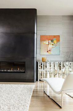 #living room #art wall