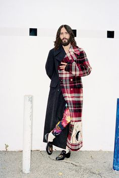 Gq Style, Tartan Fashion, Mens Fashion, Alessandro Gucci, Tartan Mode, Jared Leto Movies, Derby, Jered Leto, Terry Richardson