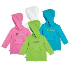 Sun Smarties Kids Hoodie Cover-Up - Got Owen one of these last summer. It was great to throw on after we got out the pool.