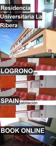 Hotel Residencia Universitaria La Ribera in Logrono, Spain. For more information, photos, reviews and best prices please follow the link. #Spain #Logrono #travel #vacation #hotel