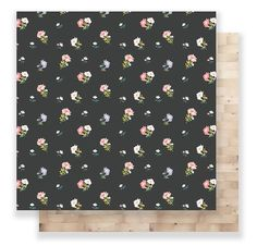 Crate Paper - Maggie Holmes Collection - Bloom - 12 x 12 Double Sided Paper - Lizzy Crate Paper, Scrapbook Supplies, Scrapbook Paper, Bloom, Single Sheets, American Crafts, Paper Design, Pattern Fashion, Crates