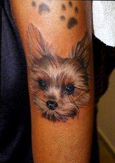 De 8 Coolest Yorkshire Terrier Tattoo Designs In de Wereld #yorkshireterrier