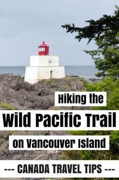 Hiking the Wild Pacific Trail near Ucluelet on Vancouver Island - a great half day walk in western Canada and easy for families as well. A true Vancouver Island must-do!