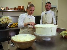 Here's the Recipe for the Royal Wedding Cake   Kensington Palace also shared avideo of Claire Ptak assembling the lemon elderflower cake, just one day before Prince Harry and Meghan Markle's wedding.