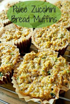with homemade coconut flour- Paleo Zucchini Bread Muffins (GAPS, Nut-Free) | How We Flourish