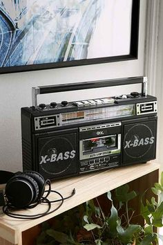 Radio Casette and MP3 player all in one kickass looking boombox! what more could you need?