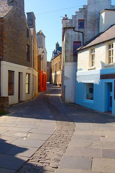 Stromness, Orkney Islands. You'd like me to visit?  Well, all righty then...