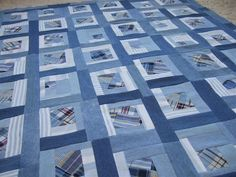 """Crafty Sewing & Quilting: """"The Denim Block"""" for The Block Party at Sew We Quilt --- from November 11th"""