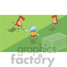 Olympic field hockey characters illustration #olympics #sports #images #clipart #vector