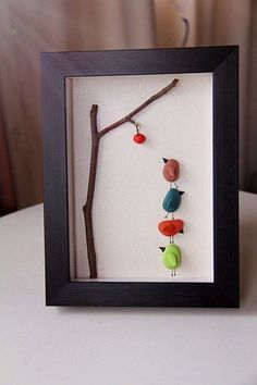 Stone Diy Inspiration In Home Decoration Page 17 Of 53 Diy Home Decoration Furniture Wall Decoration Decorative Painting Painted Stones Painted Rocks Stone Diy Creative Diy Stone Diy Decoration Simple Diy Diy Painting Stone Crafts, Rock Crafts, Diy And Crafts, Arts And Crafts, Sea Glass Crafts, Sea Glass Art, Shell Crafts, Stone Painting, Diy Painting