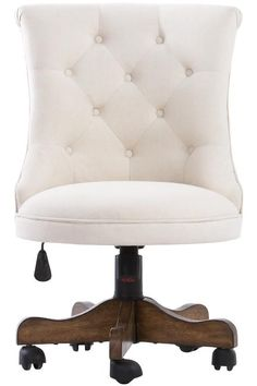 cool Cute little tufted chair for the home office. HomeDecorators.com #12DaysofDeals ...