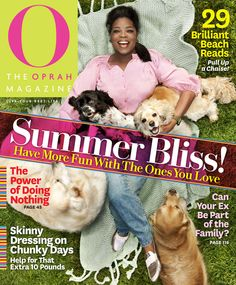 O Magazine Cover, July 2011