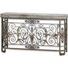 CHATELET METAL CONSOLE - Google Search