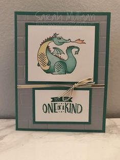Card using Magical Day Stampin' Up! stamp set. Created by Sarah Mulligan, Independent Stampin' Up! Demonstrator