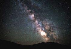 Glitzernder #sternenhimmel  über #idaho
