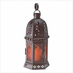 Hanging Tabletop Candle Lanterns Color Glass Panels Blue Purple Amber Red Green | eBayUS $11.99 $8.95 Standard Shipping