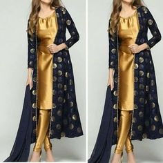 Tyroshi outfit Shiera wears in her chambers when she learns of her cousin, Robert& death Designer Party Wear Dresses, Kurti Designs Party Wear, Indian Designer Outfits, Pakistani Dress Design, Pakistani Outfits, Indian Outfits, Stylish Dresses, Fashion Dresses, Indian Gowns Dresses