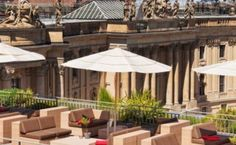 The Rooftop Terrace im Hotel de Rome
