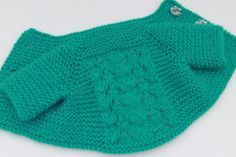 TopDown Baby Short Cardigan. 03 months by tlcrochetknitting, $28.00